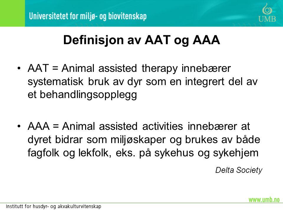 Definisjon av AAT og AAA