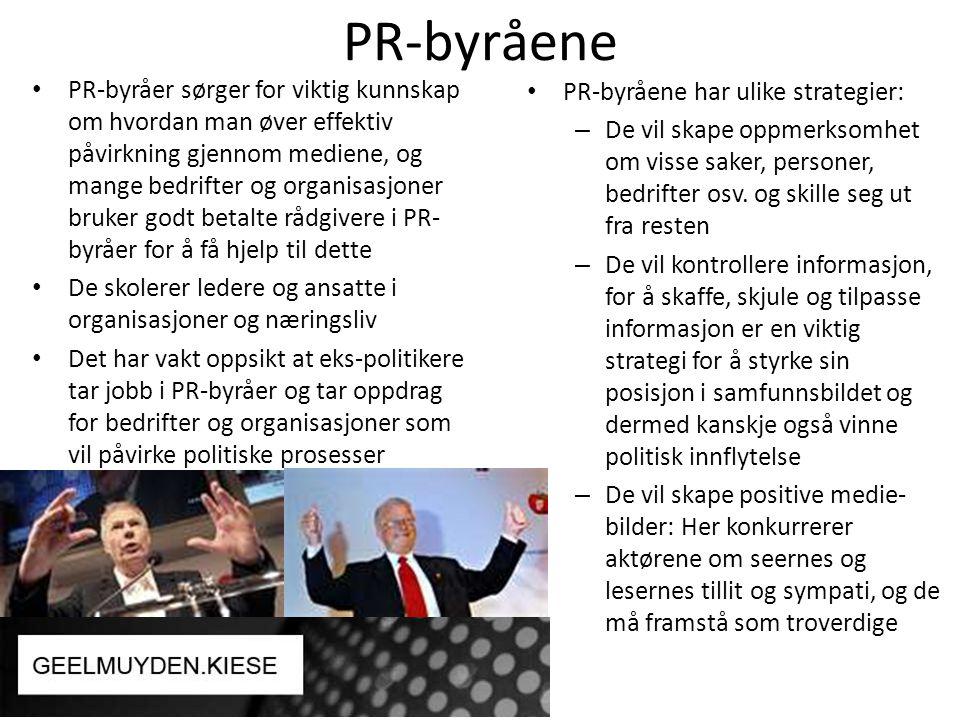 PR-byråene