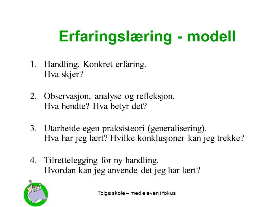 Erfaringslæring - modell