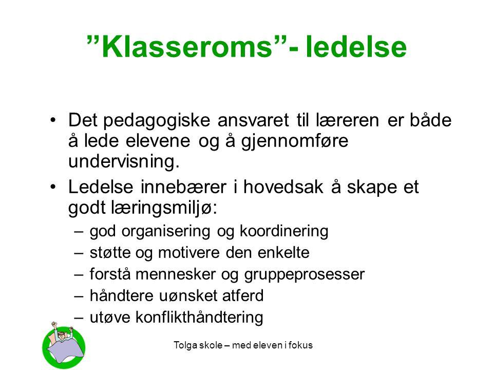 Klasseroms - ledelse