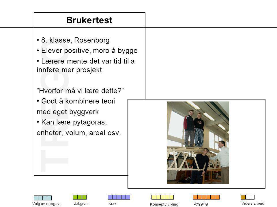 Brukertest 8. klasse, Rosenborg Elever positive, moro å bygge