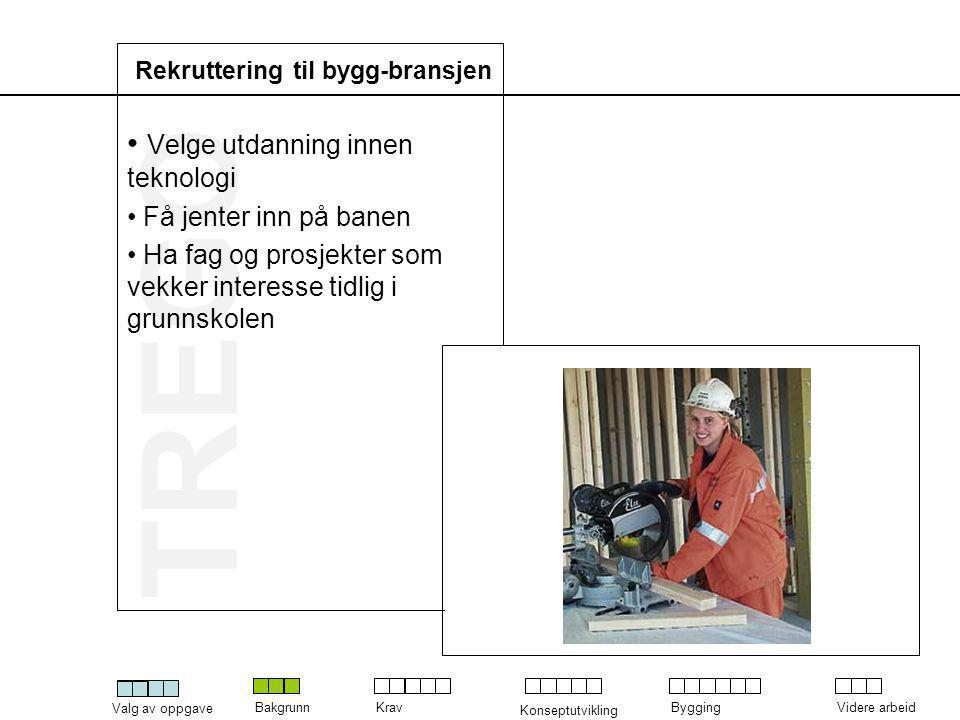 Rekruttering til bygg-bransjen