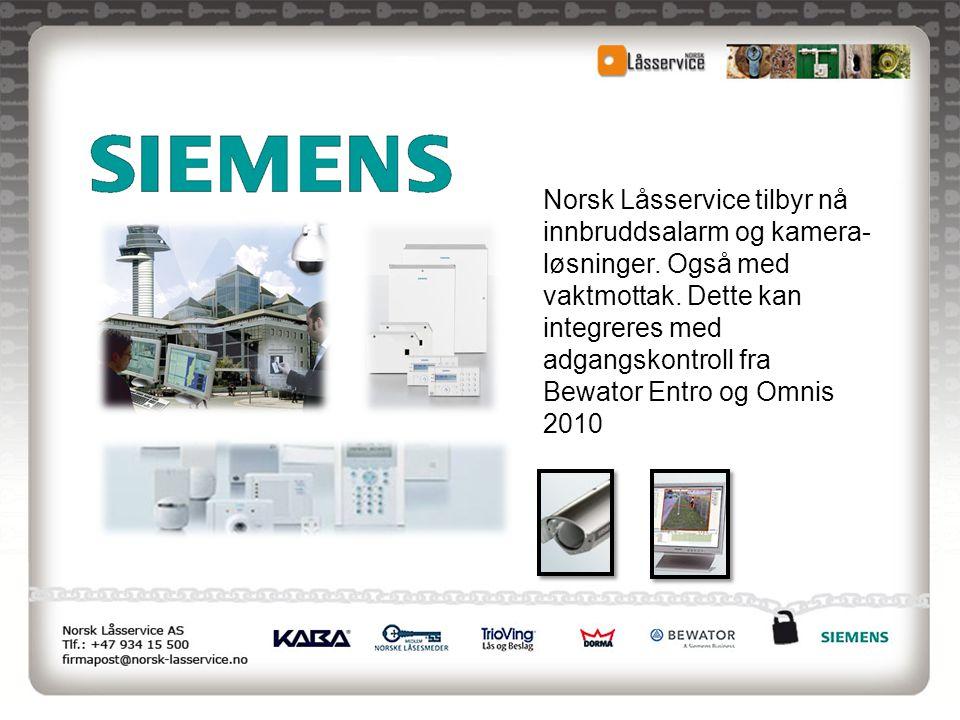 Norsk Låsservice tilbyr nå innbruddsalarm og kamera-løsninger