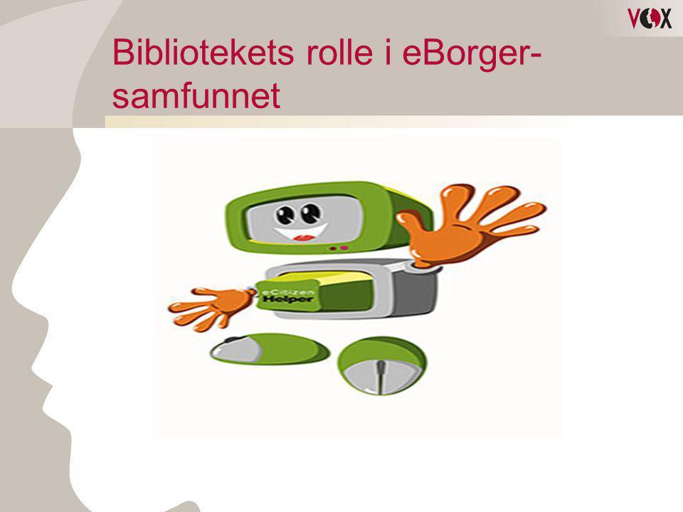 Bibliotekets rolle i eBorger-samfunnet