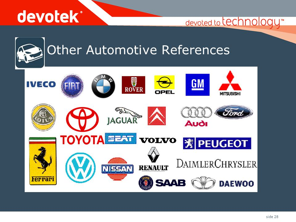 Other Automotive References
