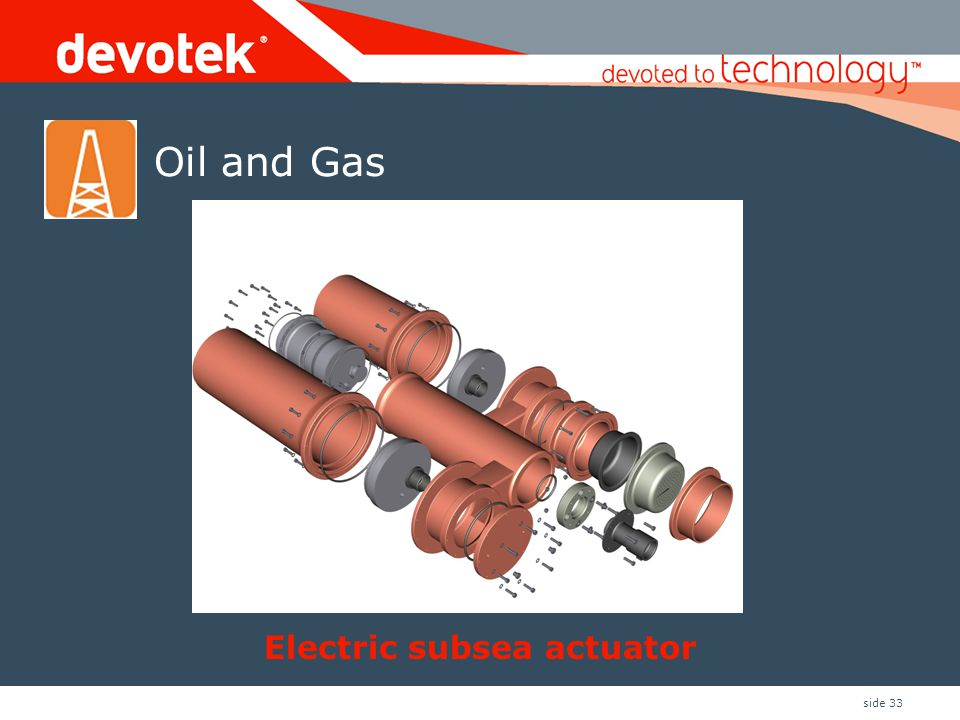 Electric subsea actuator