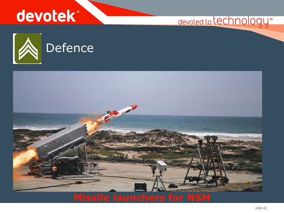Missile launchers for NSM