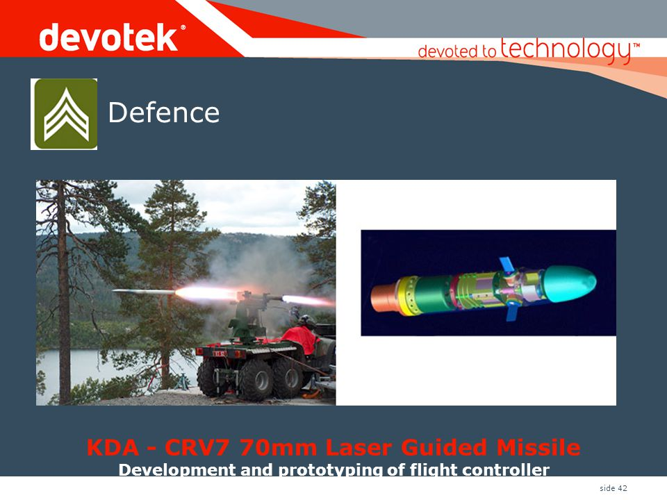 KDA - CRV7 70mm Laser Guided Missile