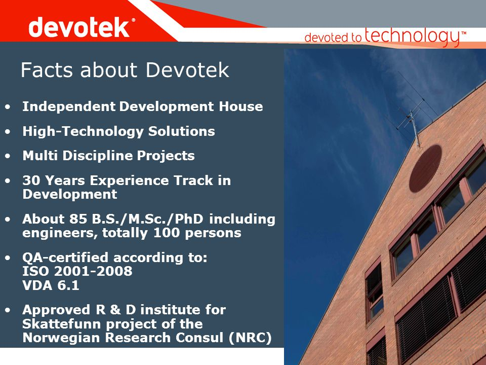 Facts about Devotek Independent Development House