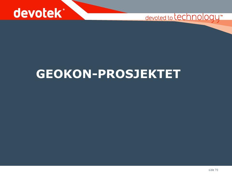 GEOKON-PROSJEKTET