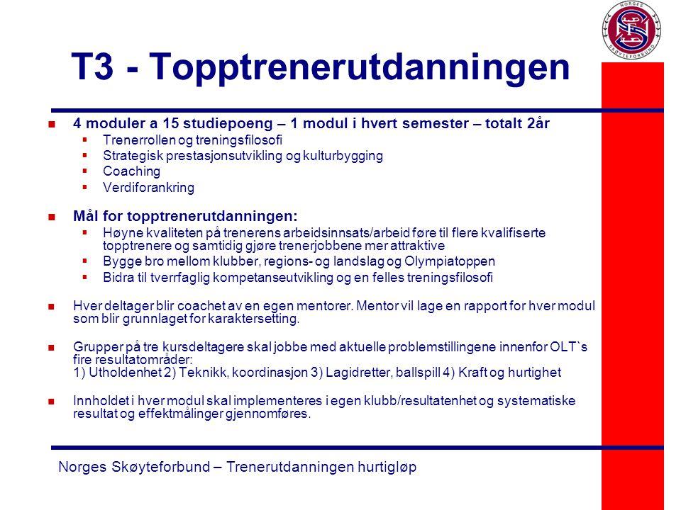 T3 - Topptrenerutdanningen