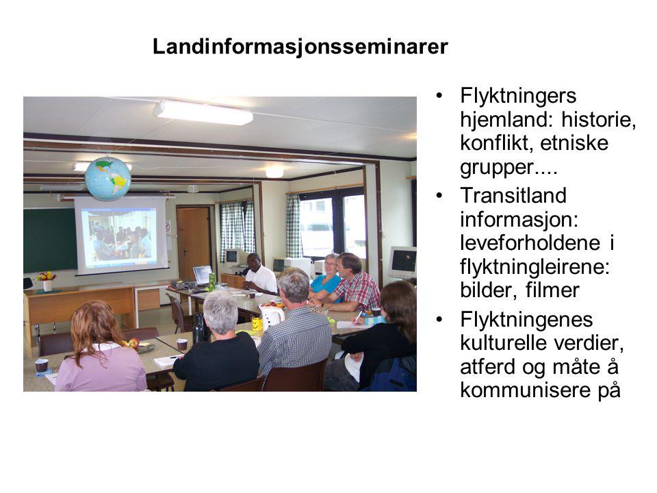Landinformasjonsseminarer