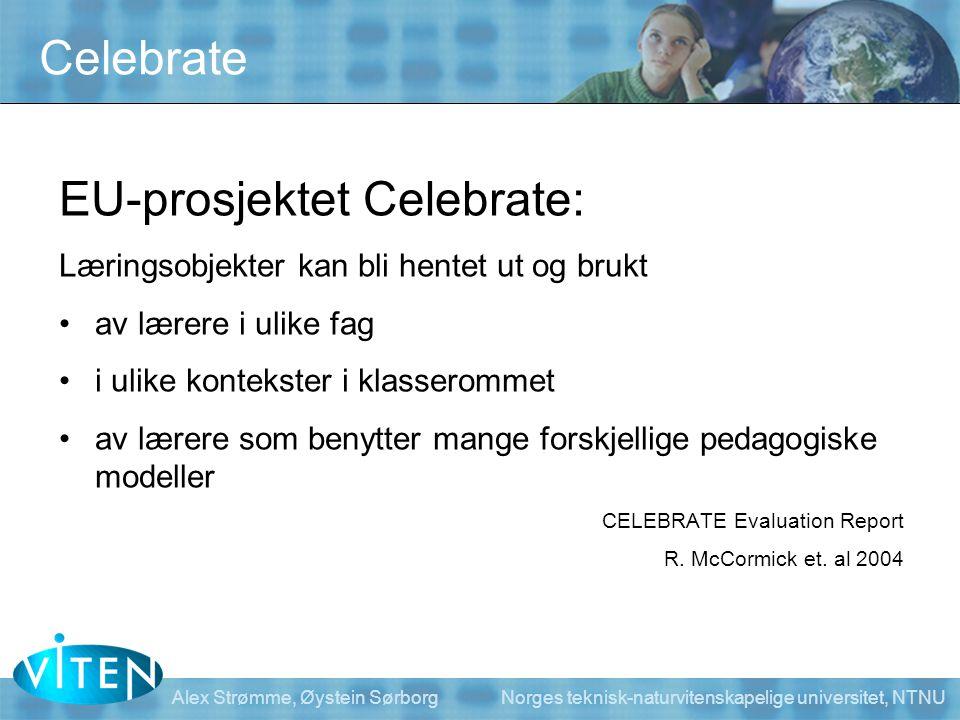 EU-prosjektet Celebrate: