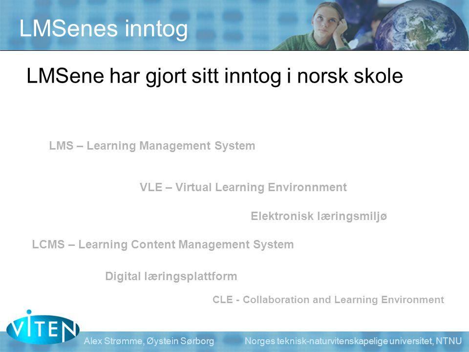 LMSenes inntog LMSene har gjort sitt inntog i norsk skole