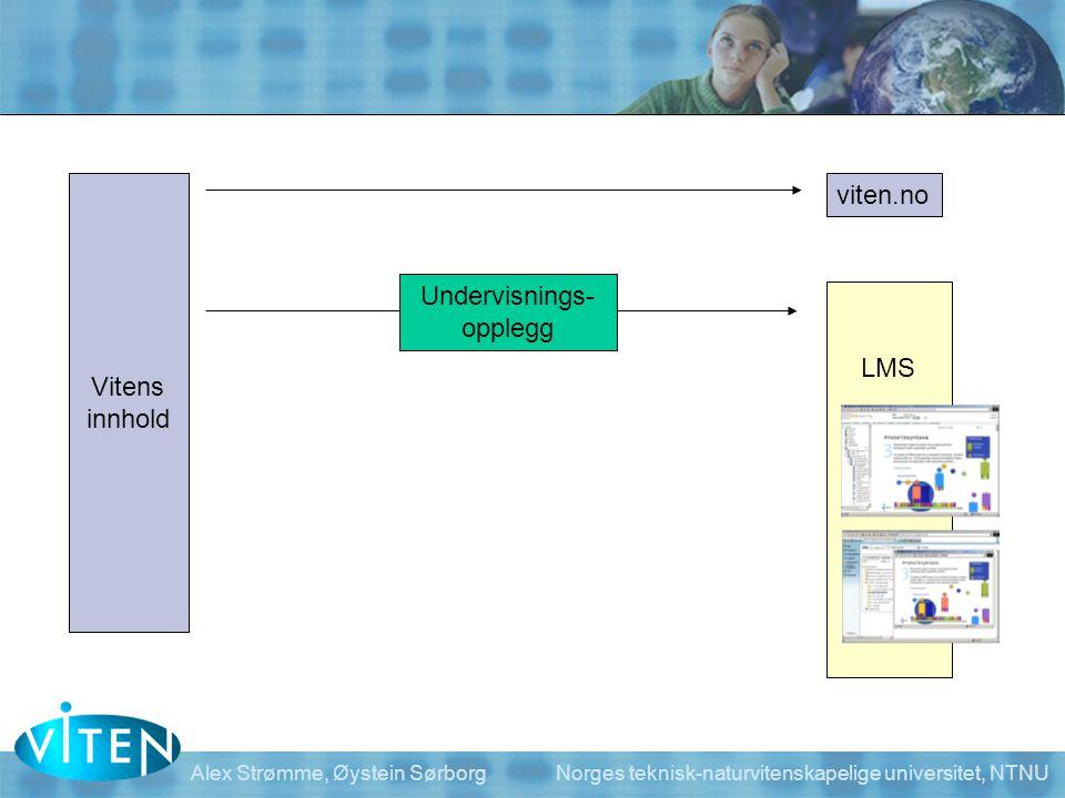 viten.no Vitens Undervisnings- innhold opplegg LMS