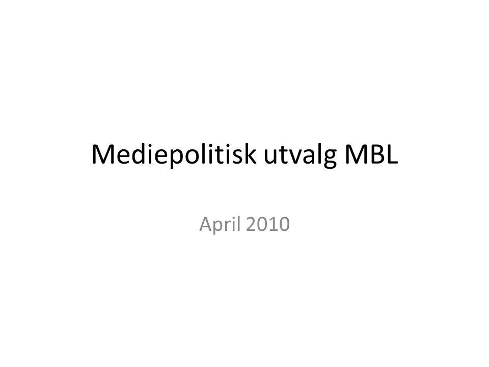 Mediepolitisk utvalg MBL