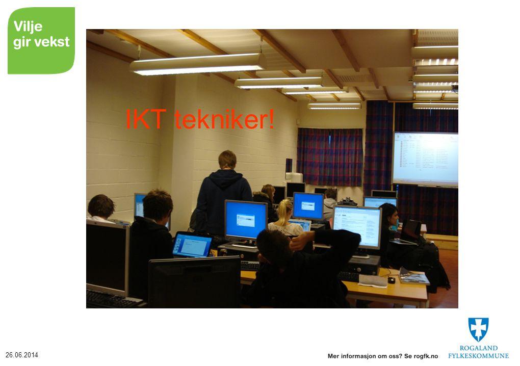IKT tekniker! Torill