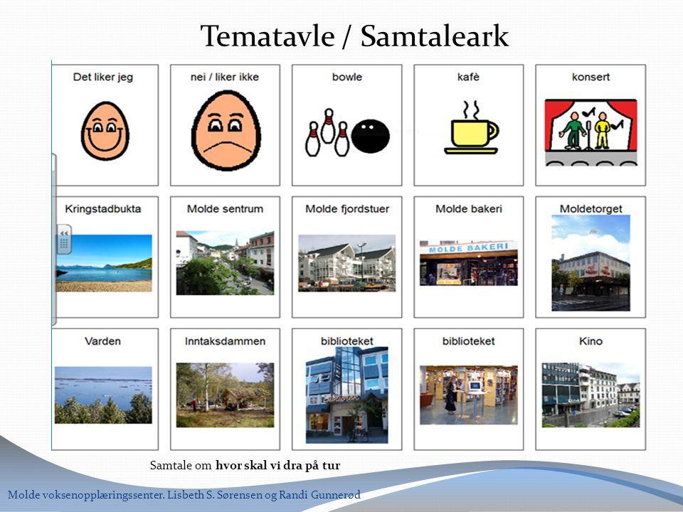 Tematavle / Samtaleark