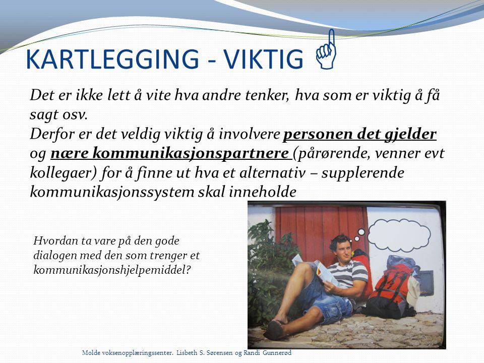 KARTLEGGING - VIKTIG 