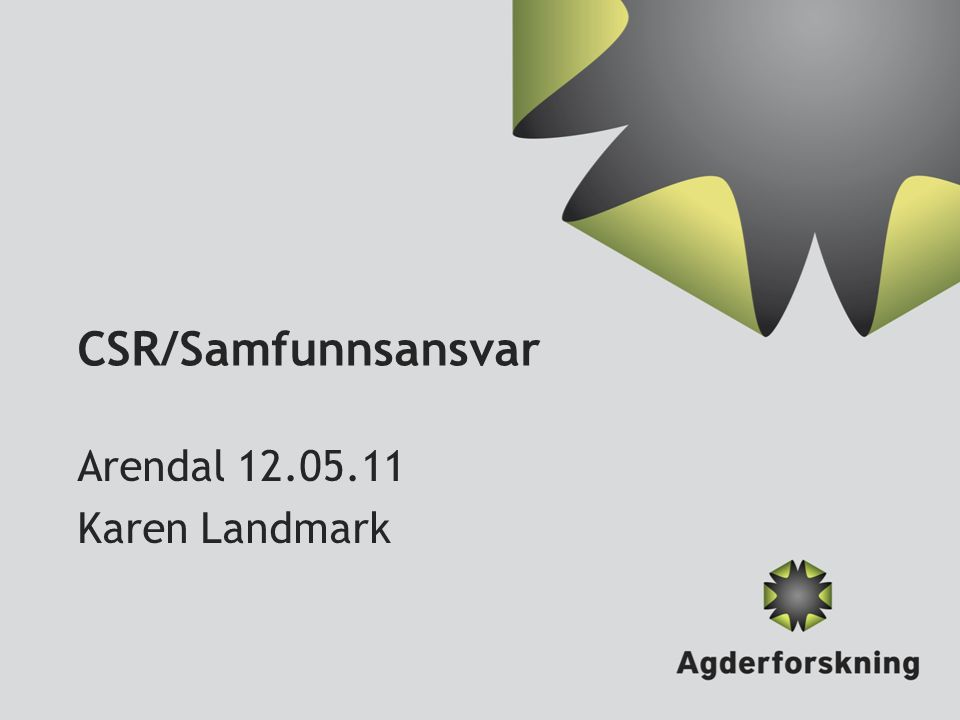 Arendal 12.05.11 Karen Landmark