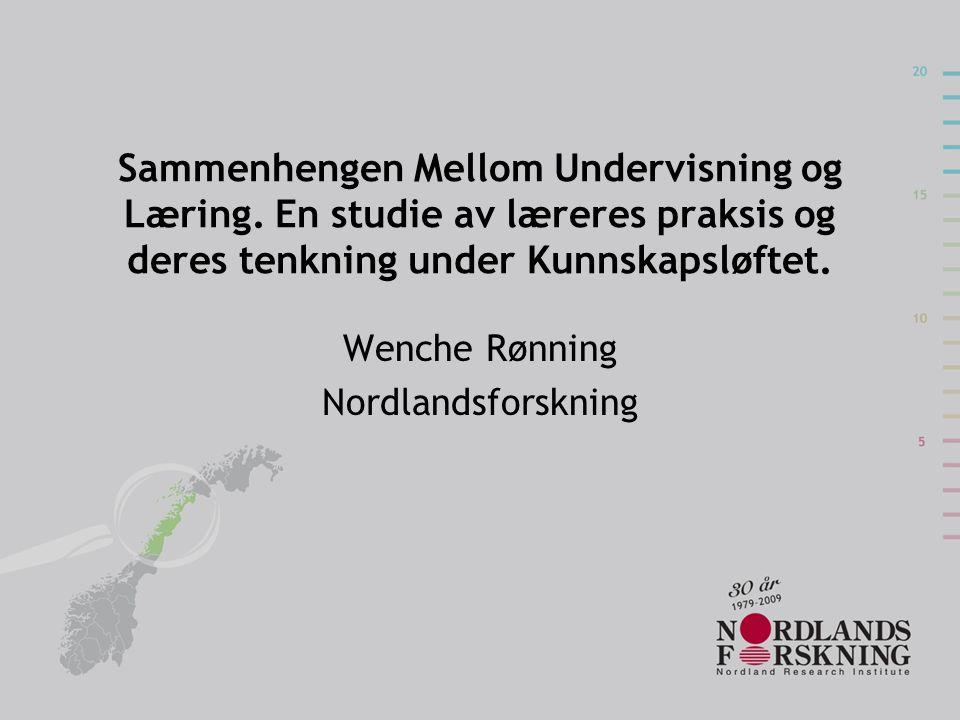 Wenche Rønning Nordlandsforskning