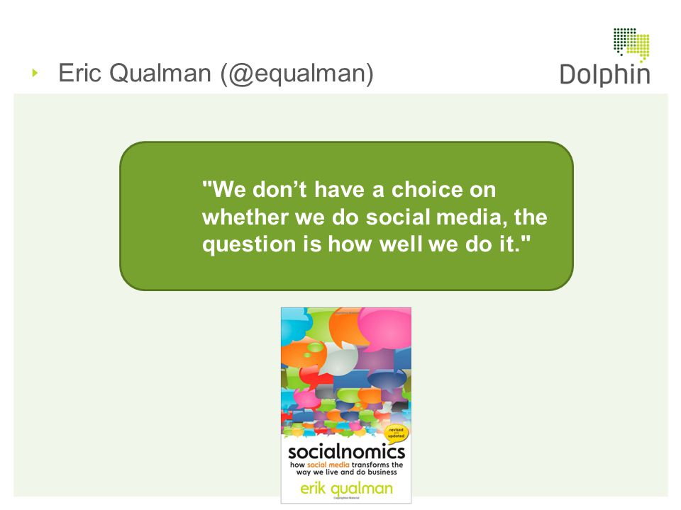 Eric Qualman (@equalman)