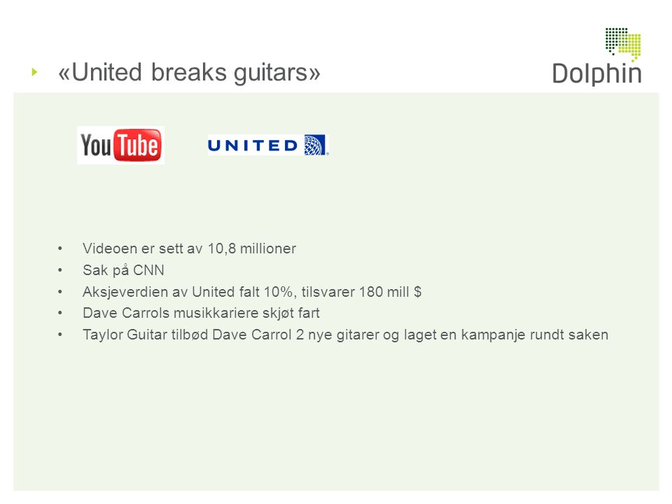 «United breaks guitars»