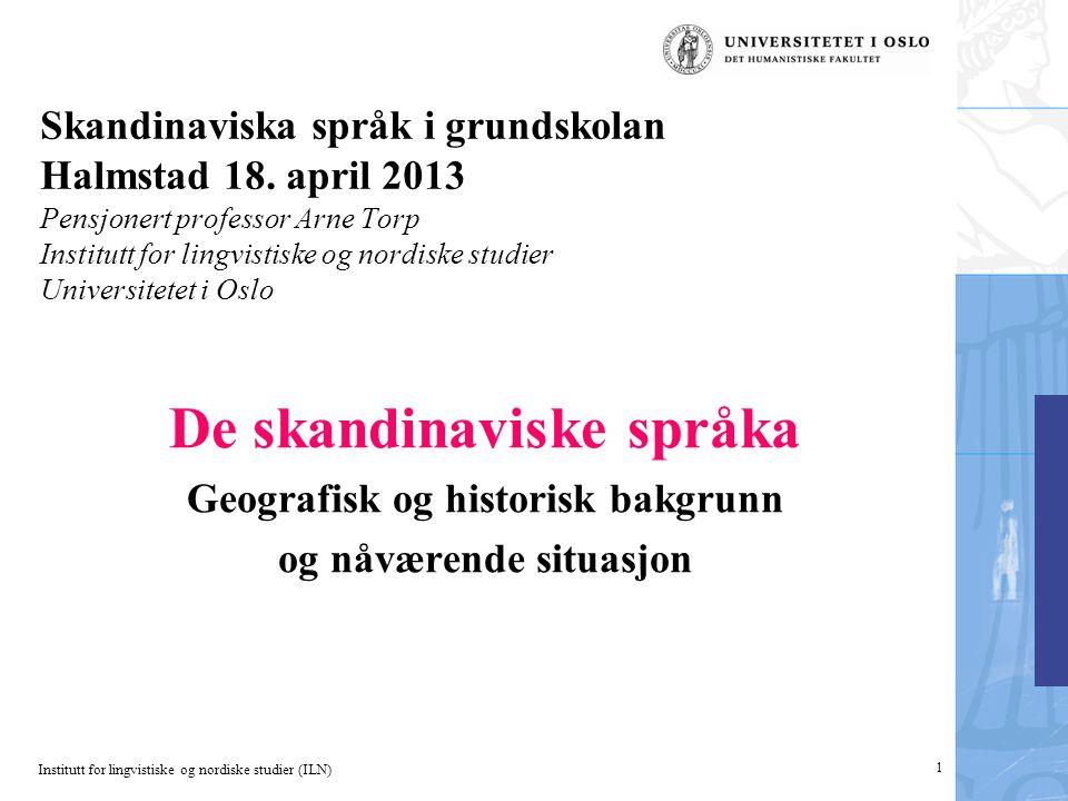 De skandinaviske språka