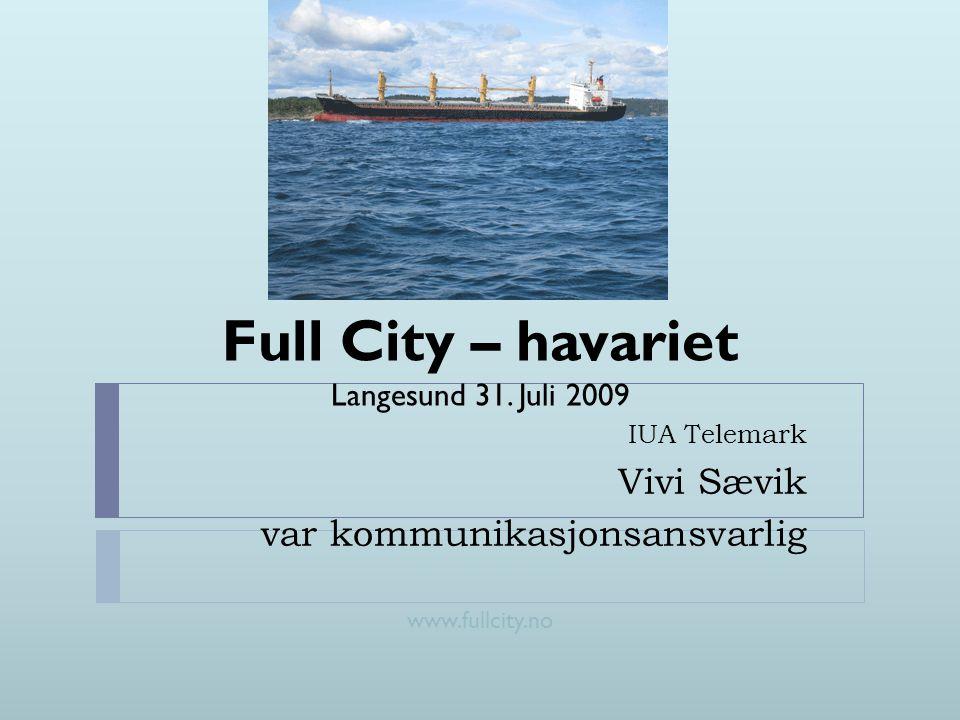 IUA Telemark Vivi Sævik var kommunikasjonsansvarlig