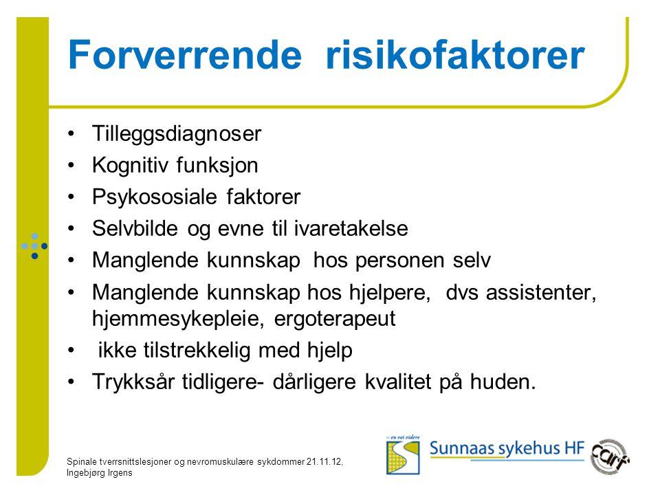 Forverrende risikofaktorer
