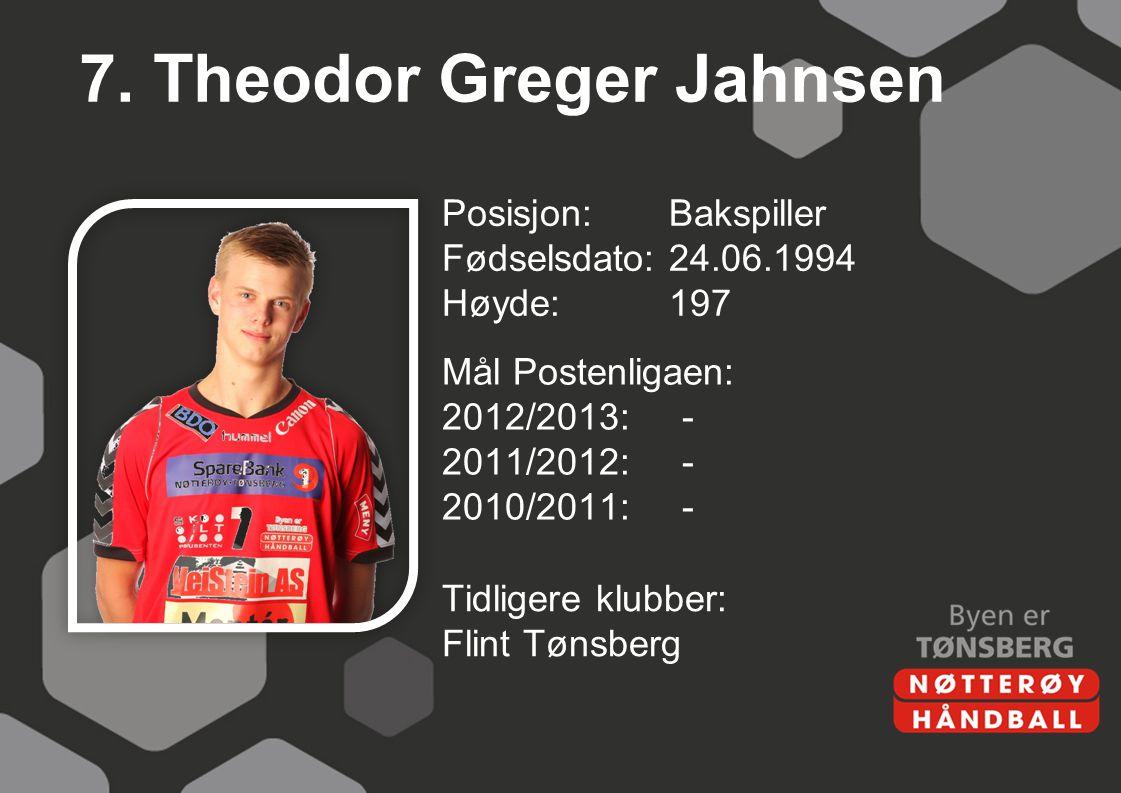 7. Theodor Greger Jahnsen
