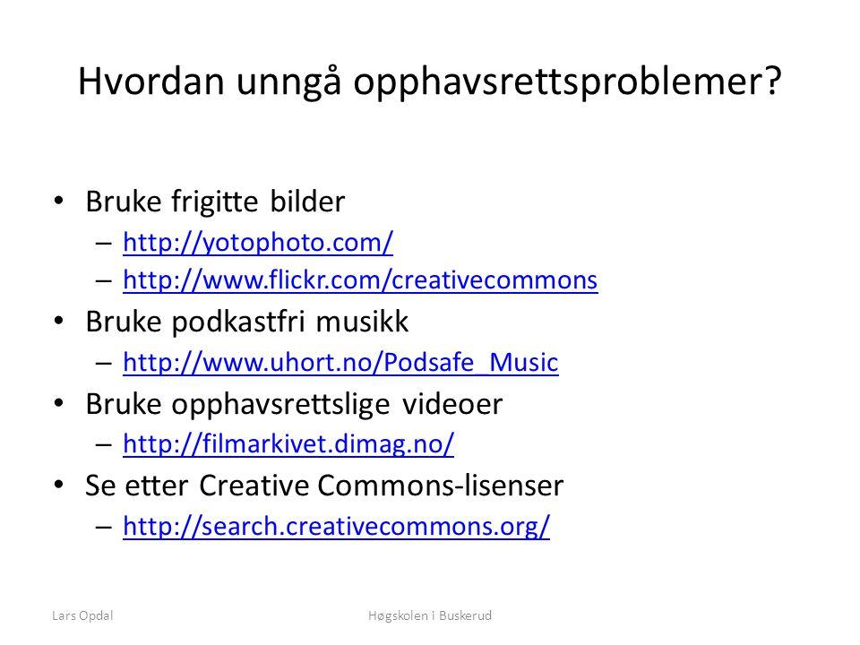 Hvordan unngå opphavsrettsproblemer