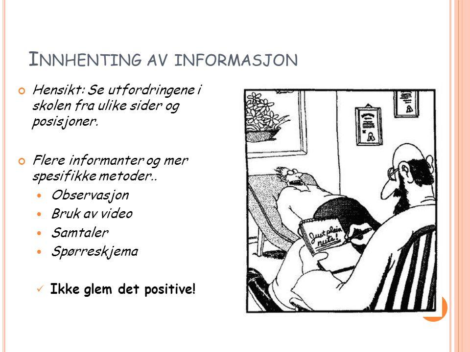 Innhenting av informasjon