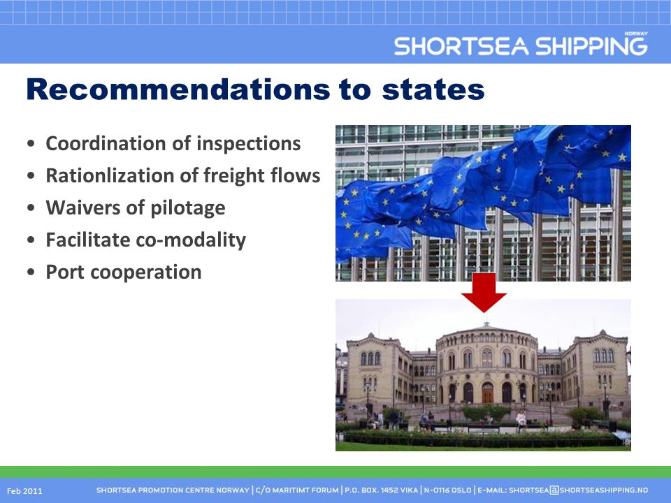 Recommendations to states