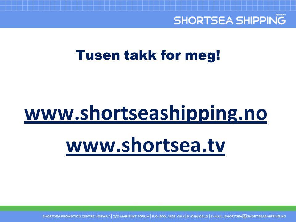 www.shortseashipping.no www.shortsea.tv