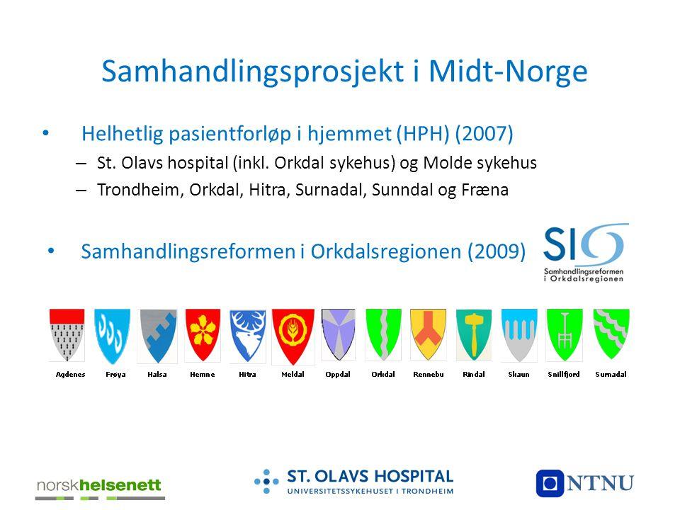 Samhandlingsprosjekt i Midt-Norge