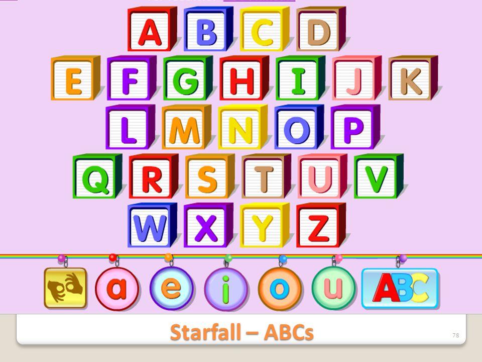 Starfall – ABCs
