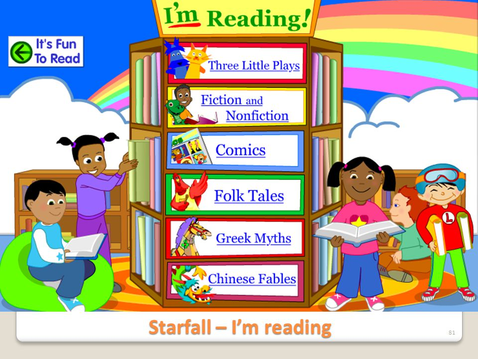 Starfall – I'm reading