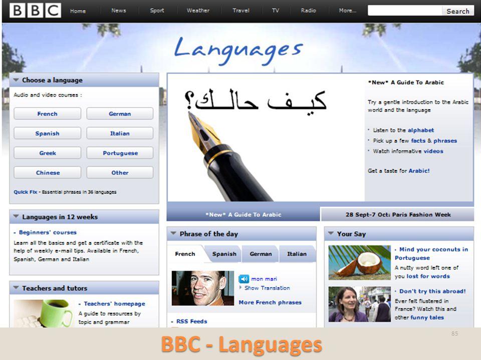 BBC - Languages