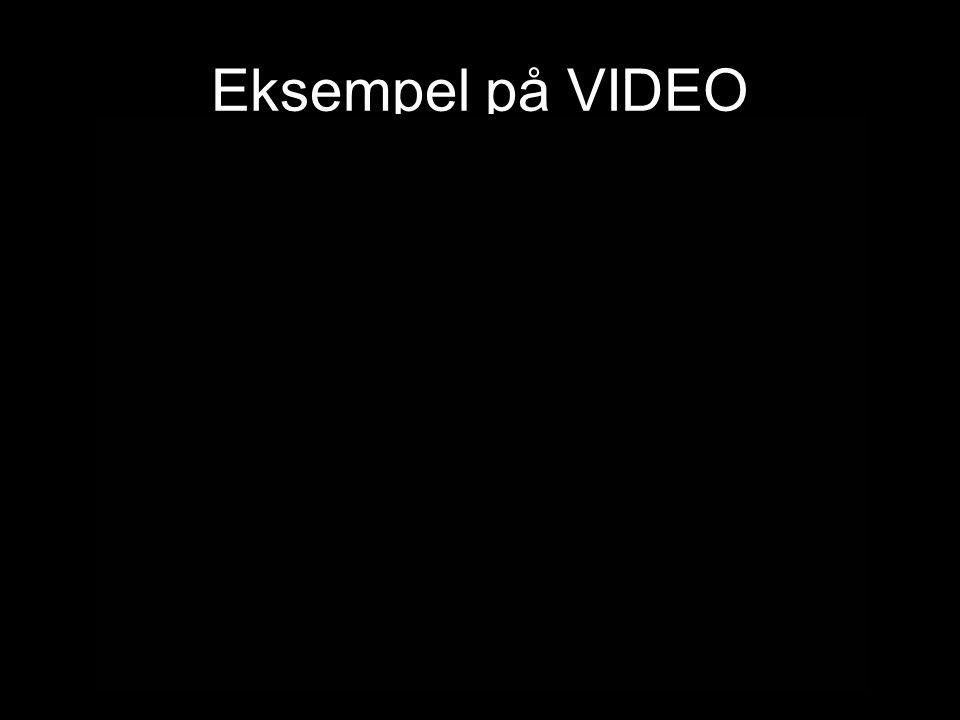 Eksempel på VIDEO Video fra Gynforeningen