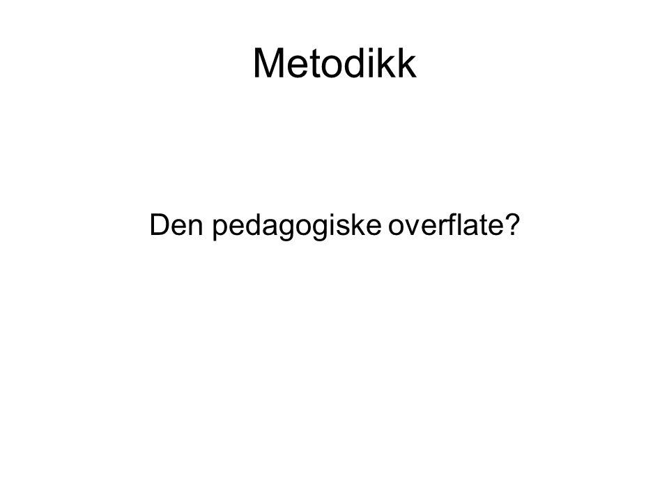 Den pedagogiske overflate