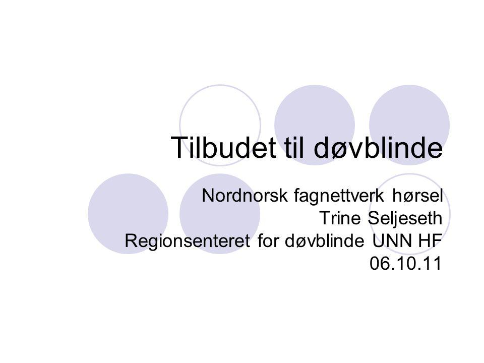 Tilbudet til døvblinde