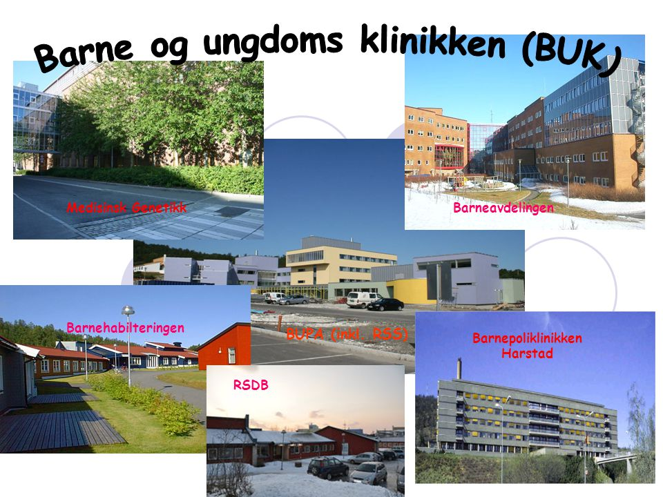 Barne og ungdoms klinikken (BUK) Barnepoliklinikken Harstad