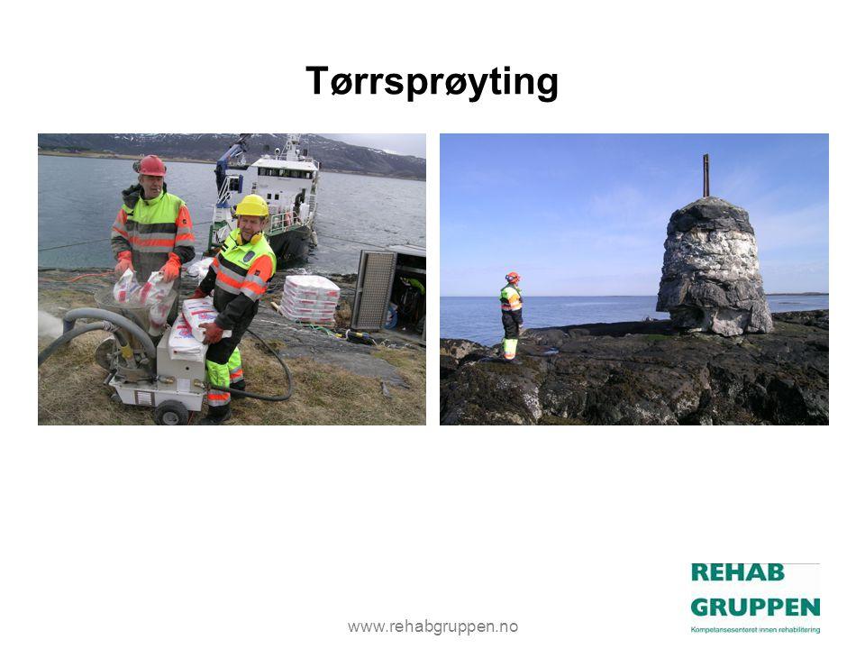 Tørrsprøyting www.rehabgruppen.no