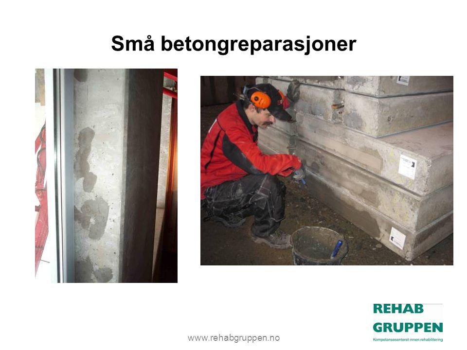 Små betongreparasjoner