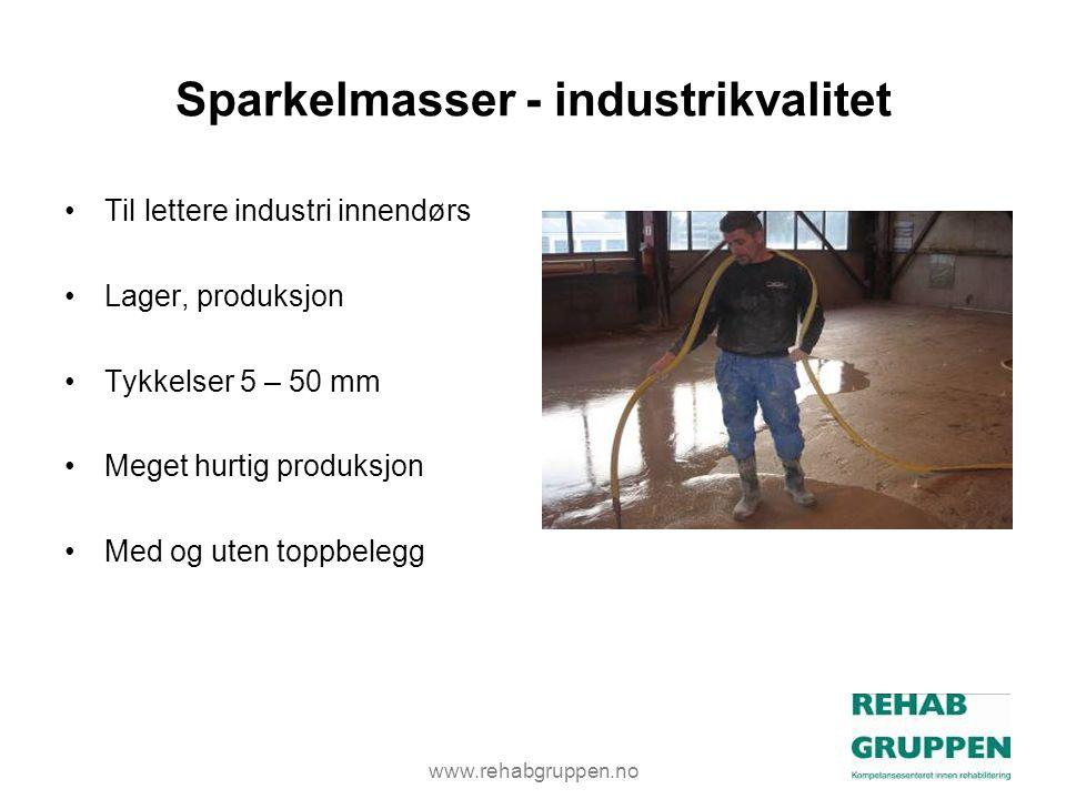 Sparkelmasser - industrikvalitet