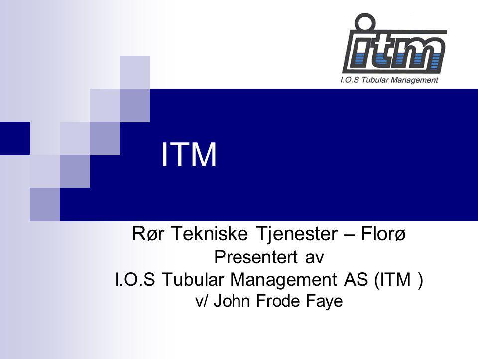 ITM Rør Tekniske Tjenester – Florø Presentert av