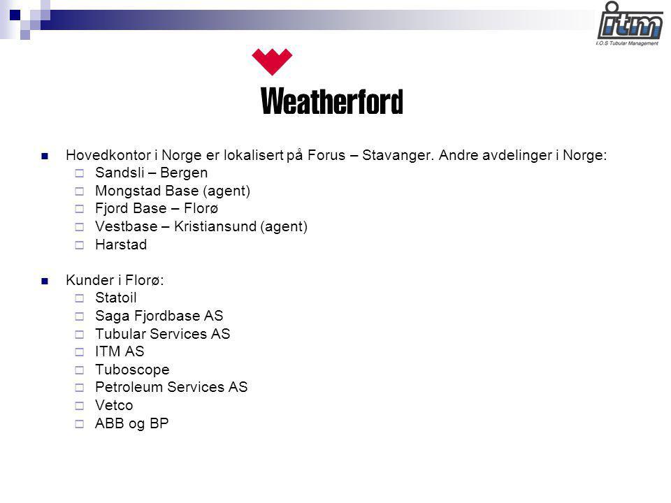 Hovedkontor i Norge er lokalisert på Forus – Stavanger