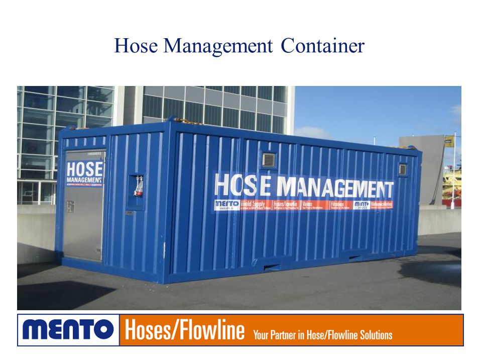Hose Management Container