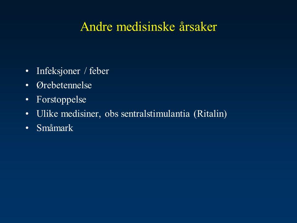 Andre medisinske årsaker